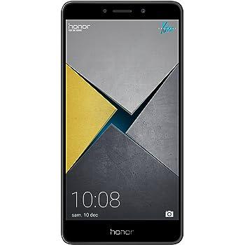 "Honor 6X Smartphone da 5,5"" FHD, 4G LTE, Dual SIM, Kirin 655 Octa-core, 32 GB ROM, 3 GB RAM, Dual Camera 12 Megapixel, Android, Grigio"