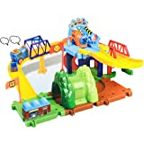 Blossom 33PCs Train Toy Set for Kids with Moving Train / Battery Operated Train Track Puzzle Game for Girls and Boys…