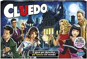 Hasbro Gaming - Cluedo Versione 2017 (Gioco in Scatola), 38712456