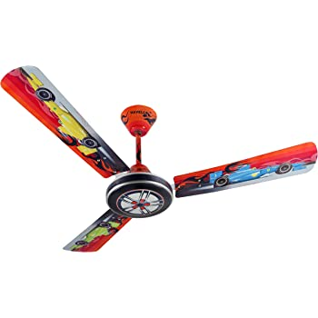 Awesome Havells Moto Race Ceiling Fan For Kids Room (48 Inch) (1200 MM)