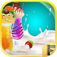 Make A Shake Milkshake & Smoothie Ice Drink Maker Free