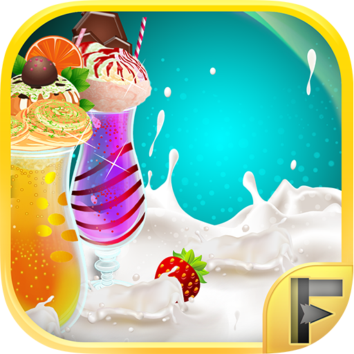 Make A Shake Milkshake & Smoothie Ice Drink Maker Free