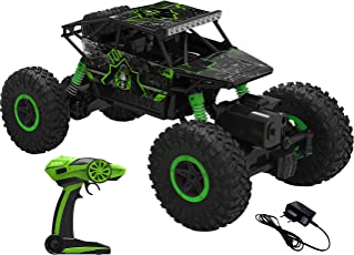 Webby Remote Controlled Rock Crawler Monster Truck, Green