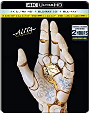 Alita: Battle Angel (Steelbook) (4K UHD + Blu-ray 3D + Blu-ray) (3-Disc)