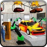 Tankstelle Autoparkplatz Simulatorspiel Autobahn Service-Mechaniker Abschleppfahrzeug Spiele frei für Kids 2018