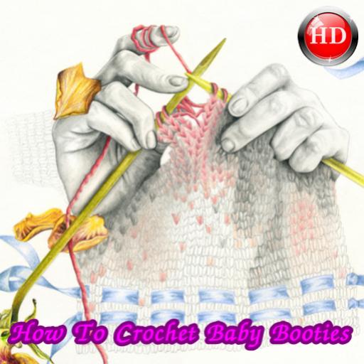 How To Crochet Baby Booties (Baby Crochet Booties)