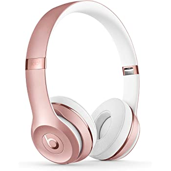Beats Solo 3 MNET2ZM/A Wireless On-Ear Headphones with Mic (Rose Gold)