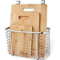 Tagliere  Set Tagliere in Bamb ugrave  DEIK  Tagliere da Cucina Set da 3 Confezionato con Portabottiglie in Acciaio Inox  Organico e Antibatterico