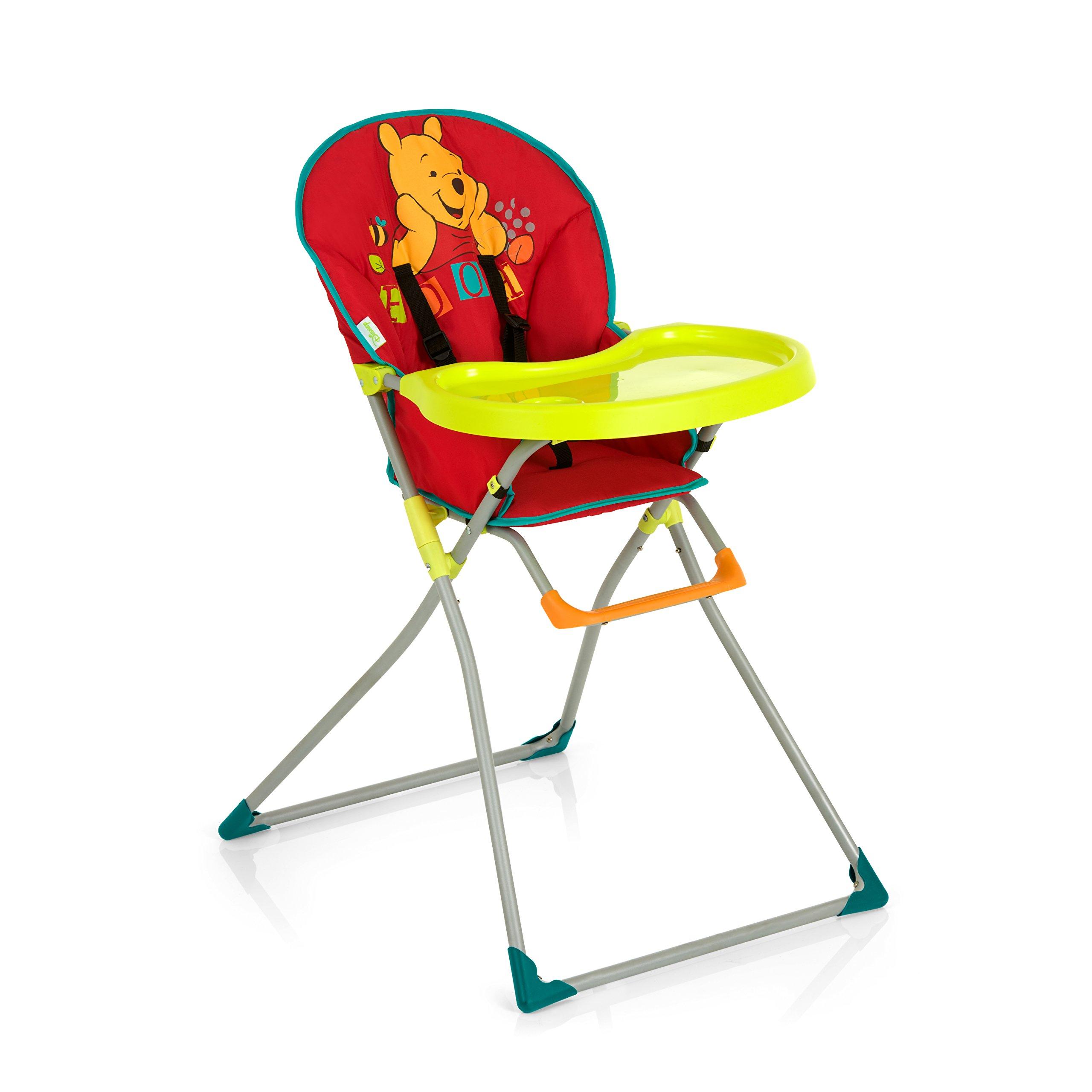 Hauck 639382 Mac Baby Seggiolone Pieghevole, Pooh Red II, Multicolore
