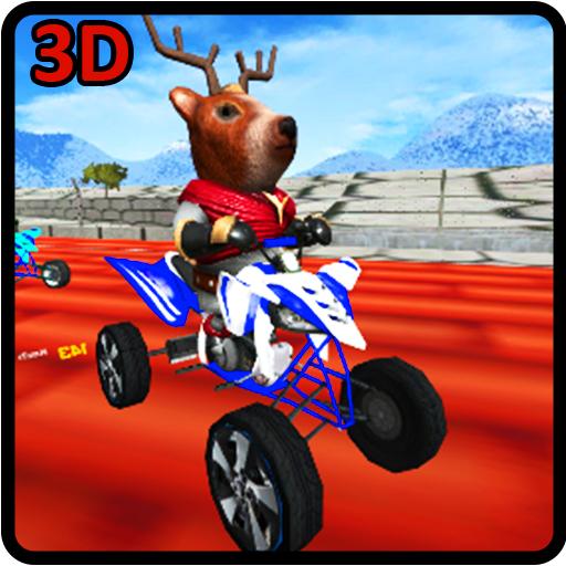 Giochi di animali Gioco di corse di cavalli selvatici per cani da caccia 3D divertente gioco gratuito per bambini