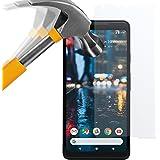 moodie Panzerglas Folie für Google Pixel 2 XL [2 Stück] Premium Glasfolie 9H Panzerglasfolie für Google Pixel 2 XL