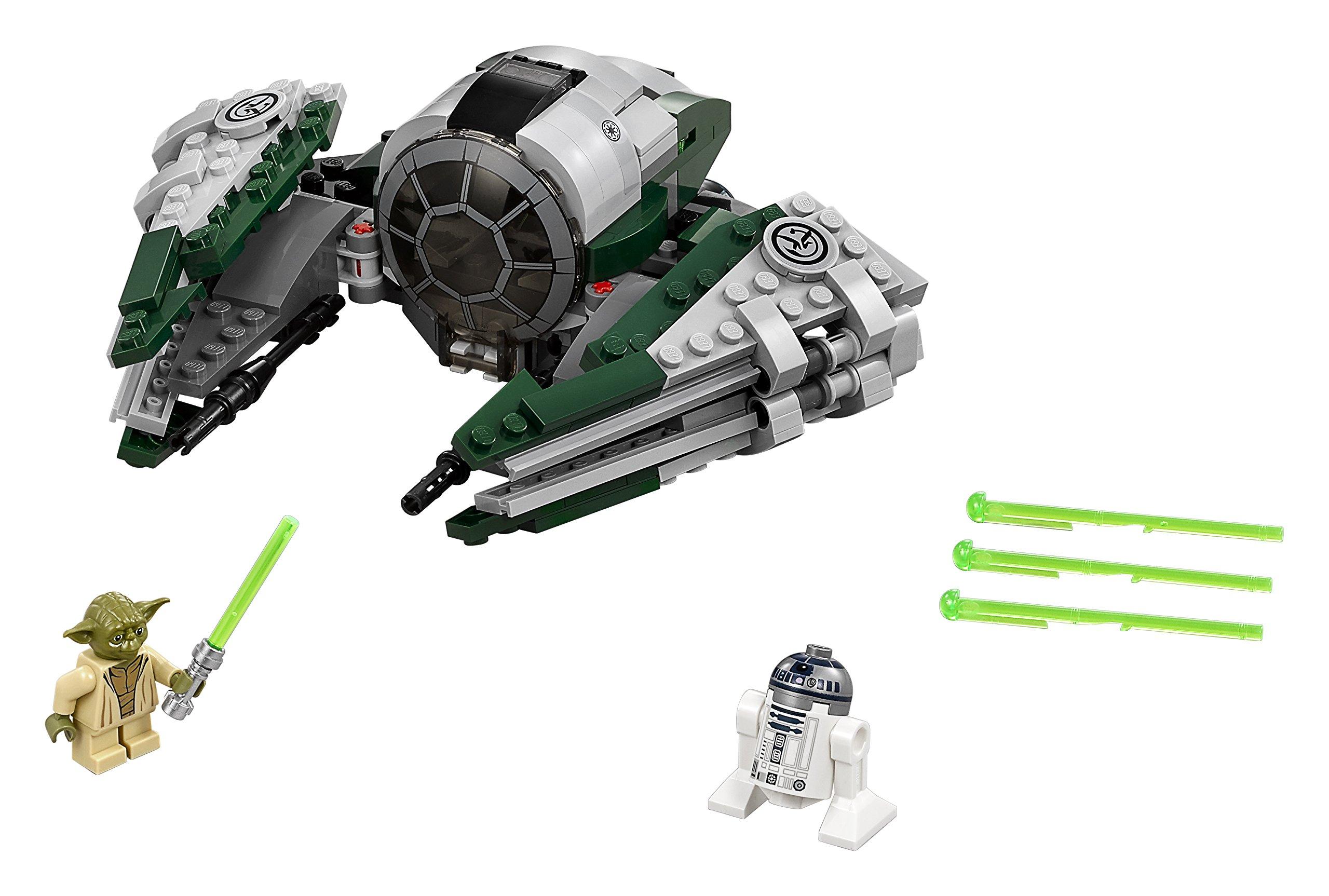 LEGO- Star Wars Jedi Starfighter di Yoda Costruzioni Piccole Gioco Bambina, Multicolore, 75168 3 spesavip
