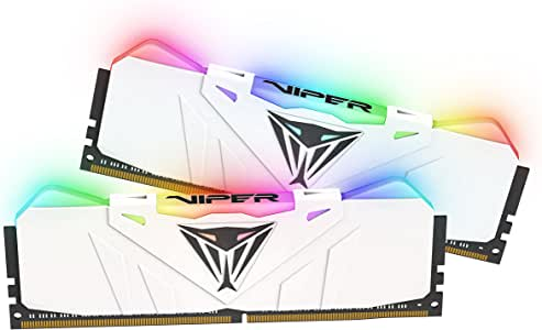Viper RGB DDR4 3000 16GB (2x8GB) C15 Kit ID Memoria Gaming Illuminato RGB - Bianco - PVR416G300C5KW
