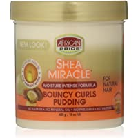 AFRiCAN PRIDE SHEA MIRACLE BOUNCY CURLS PUDDING 15oz