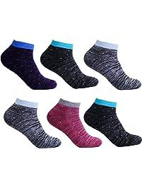 f3ea4fa9e2f4 L K-II 12 Paar Damen Sneaker Socken Füßlinge