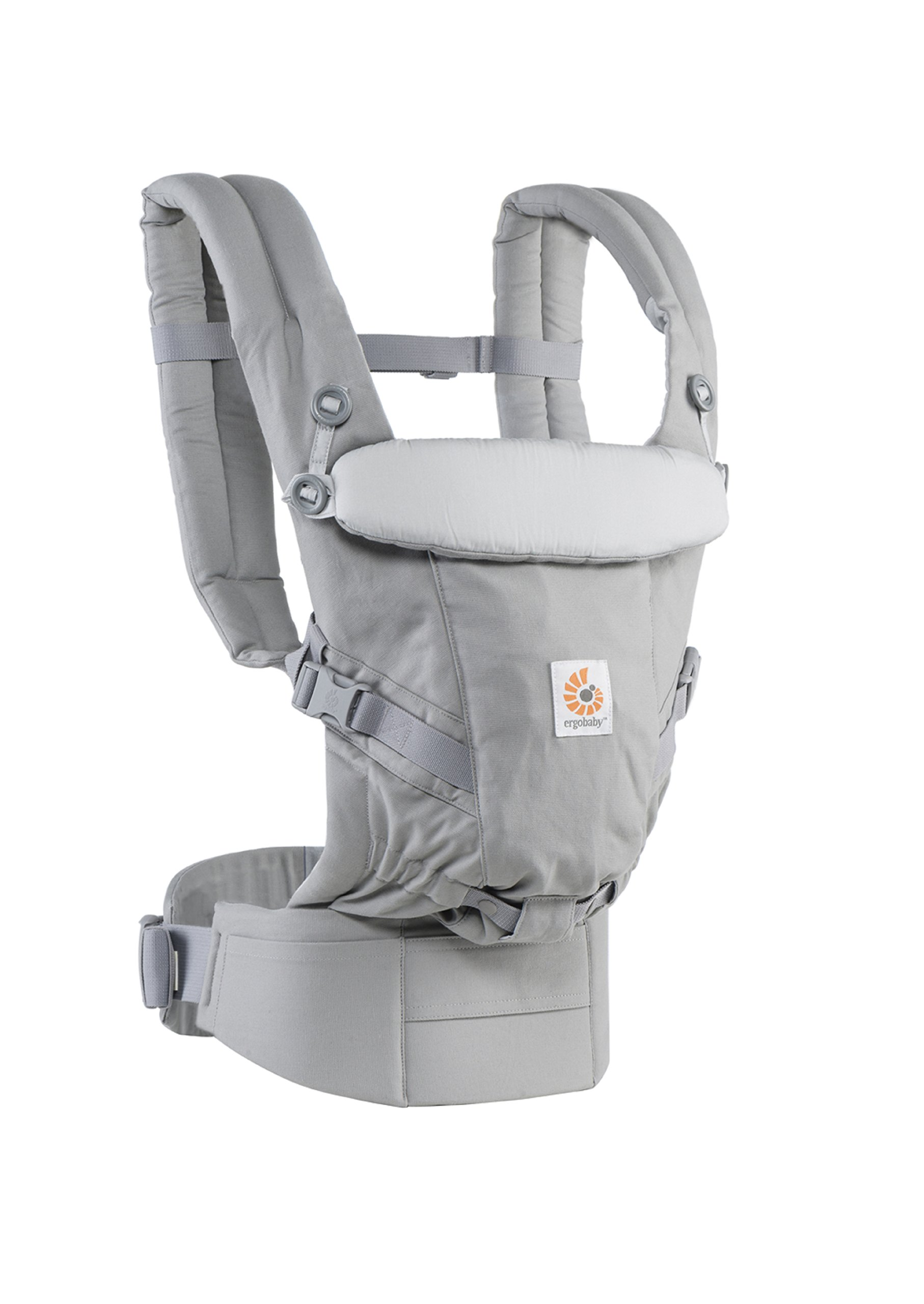 ErgoBaby Adapt Baby Carrier Grey Ergobaby Adapt to Every Baby Easy. Adjustable. Newborn to toddler. 2