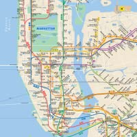 Subway Map: NYC