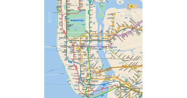 Nyc Subway Map 1989.Subway Map Nyc