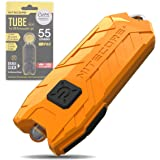 Nitecore Tube Keychain Light - USB Rechargeable 55 Lumens 9.6 g [New Version - 2021] [ Orange ]