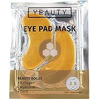 YEAUTY Beauty Boost EYE PAD MASK - feuchtigkeitsspendende Augenpads mit Wirkstoffen aus Kollagen Hyaloron Zauberstrauch…