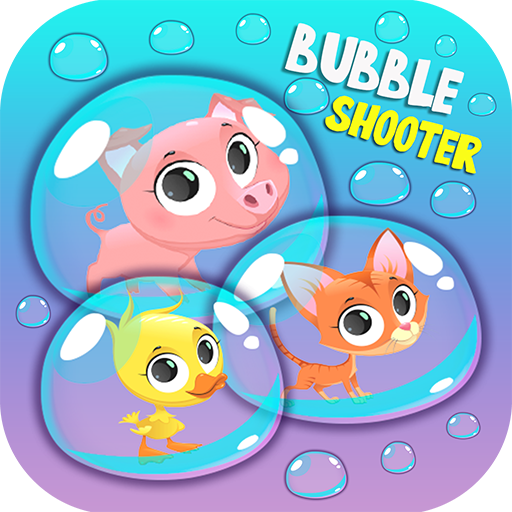 Little Pet Bubble Shooter - Shoot 3 same cute littlest pet bubble and relaxed your brain with a free time killing games!