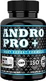 ANDRO GAIN Pre Workout Testosteron Booster + Östrogen Blocker, für extremen Muskelaufbau mit Tribulus Terrestris…