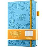 Journal en pointillé A5 par Scribbles That Matter - Carnet de notes à grille de points - Papier amical pour stylos-plume épai