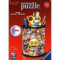 Ravensburger - Puzzle 3D - Pot à crayons - emoji - 11217