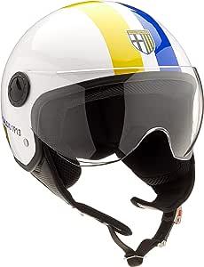 Bhr Helm Demi Jet Line One 801 Weiß Größe Xs Auto