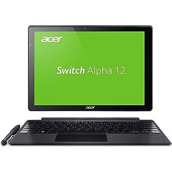 Acer Switch Alpha 12 SA5-271-30BC 30,5 cm (12 Zoll QHD Touch IPS) Convertible Laptop (Intel Core i3-6006U, 4GB RAM, 128GB SSD, Windows 10) silber