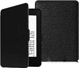 Fintie Hülle für Kindle Paperwhite - Die dünnste und leichteste Schutzhülle mit auto Sleep/Wake Funktion (Nicht geeignet für das Modell der 10. Generation 2018), Schwarz