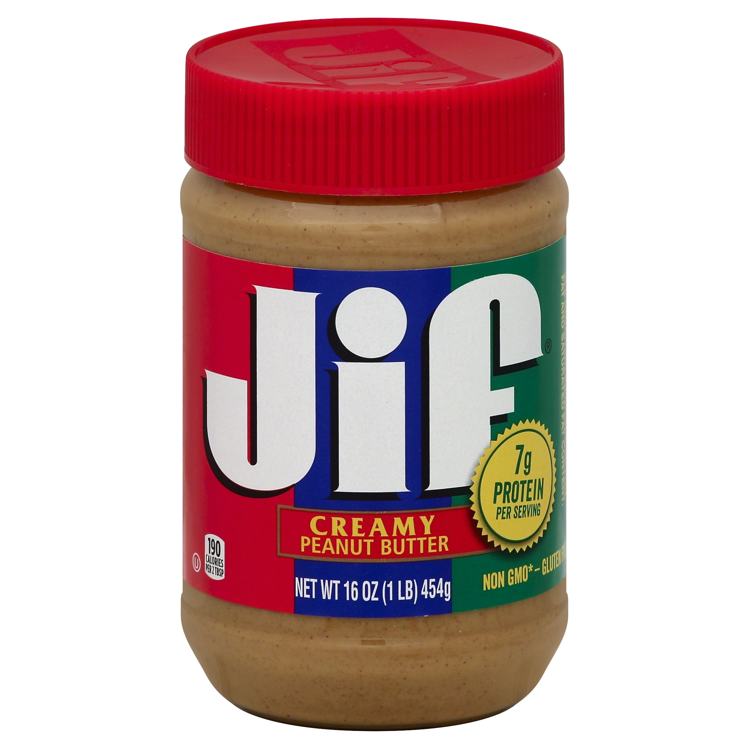 Jif Peanut Butter Creamy 454g (Pack of 6)