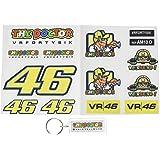 Pegatinas Y Llavero 46 Valentino Rossi The Doctor AM10 D Stickers and Key Ring AUFKLEBER VINILOS ADESIVI Decals