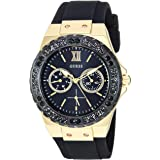 GUESS 39MM Crystal Silicone Watch
