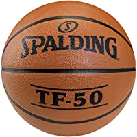 Spalding - Pallone da Basket TF50 out, Misura 6 (73-851Z), Non colorato