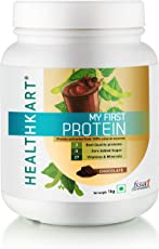 Healthkart My First Protein Beginners-Protein with Whey and Casein, 1kg 2.2Lb