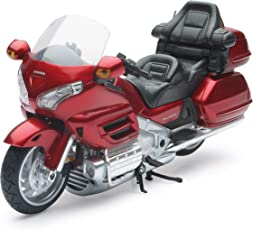 2010 Honda Goldwing [NewRay 57253], Rot, 1:12 Die Cast