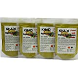 KHADI Omorose Mehendi Hena Leaves Powder -Pack of 4 x 100 g