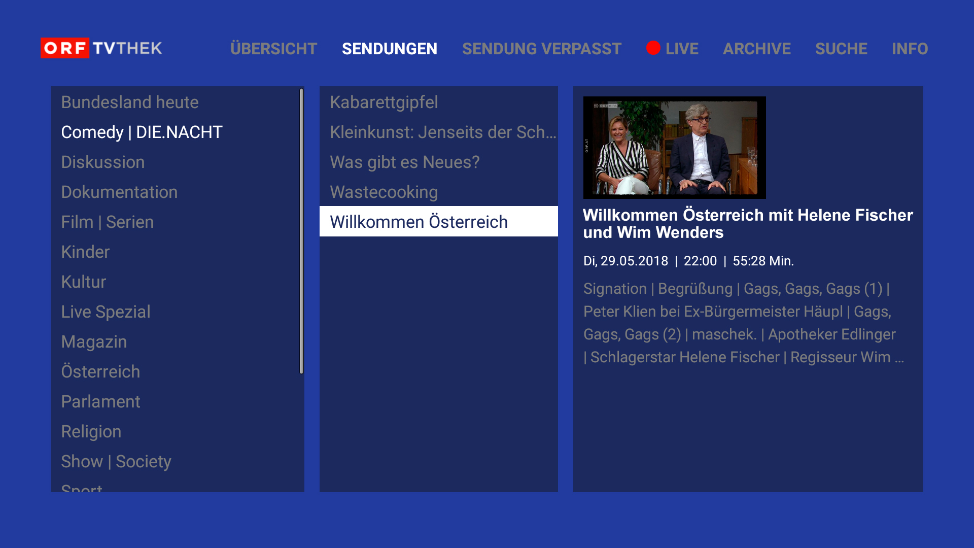 Orf Tvthek Video On Demand