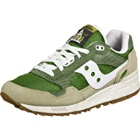 Saucony Shadow 5000 Green/Brown, Scarpe da Campo e da Pista Unisex-Adulto