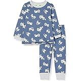 Sanetta Schlafanzug Lang Blau Juego de Pijama para Niños