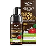 WOW Skin Science Apple Cider Vinegar Foaming Face Wash with Himalayan Apple Cider Vinegar, 100 ml