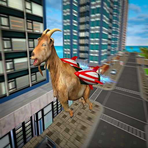Jetpack Goat City Rampage Simulator 2019: Amazon co uk
