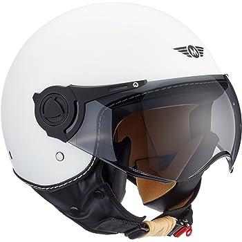 A Pro Motorradhelm Motorrad Roller Offenes Jet Helm Viser Ece 22 05