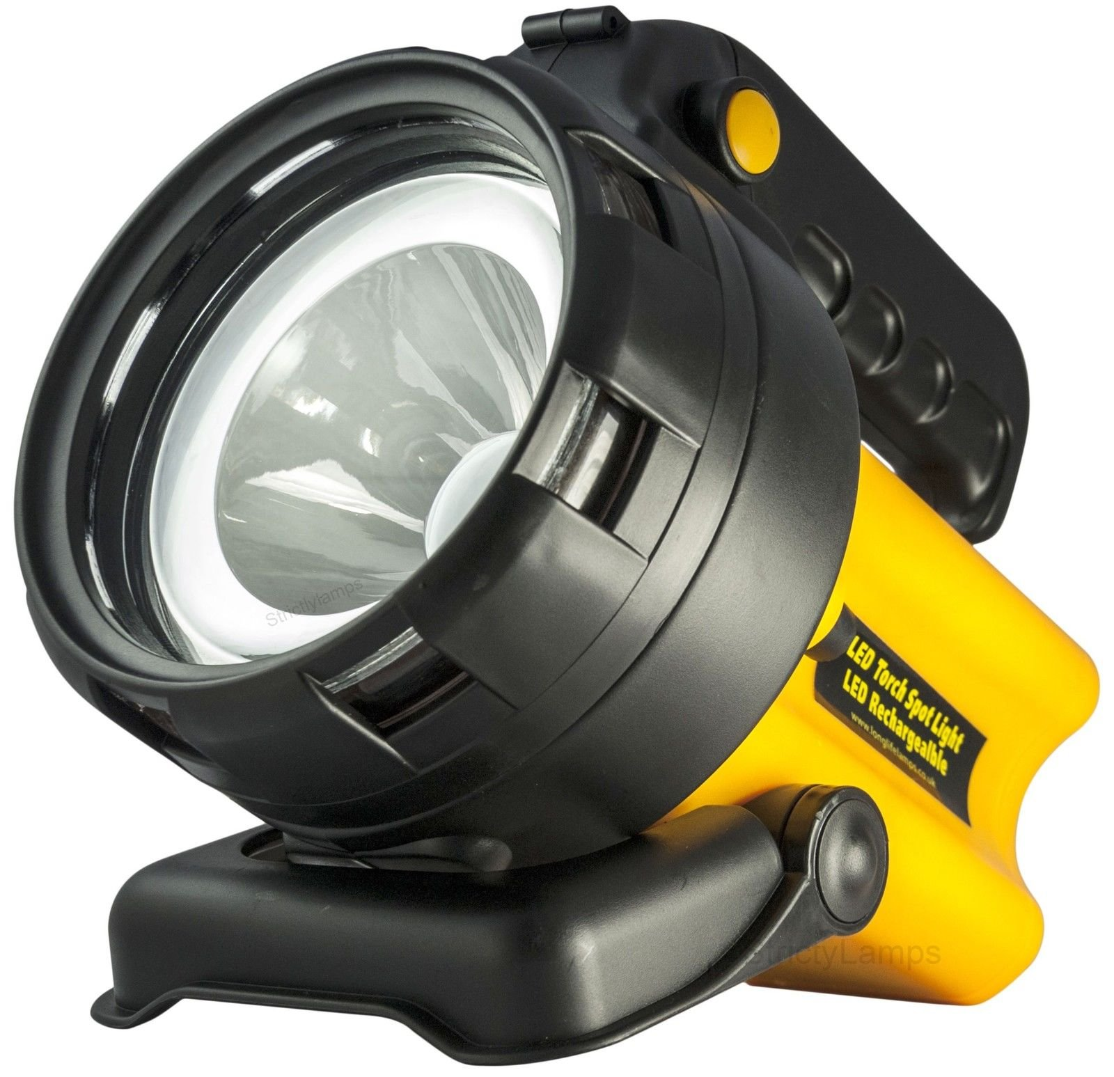 Mini Rechargeable LED Work Light Torch Candle Power Camping Spotlight Hand Lamp