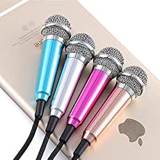 ascension Smartphone Mini 3.5mm Pocket Size Microphone for PC, Mobile (Colour may vary)