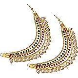 Mallepula - Women's Gold Plated Long Hair Chain Jewellery (Champaswaralu)