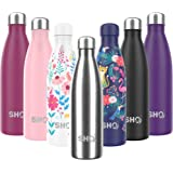 SHO Bottle - Ultimate Insulated, Double Walled Stainless Steel Vacuum Flask & Water Bottle - 12 Hours Hot & 24 Hours…
