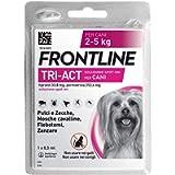 Frontline TriAct, 1 Pipetta, Cane XS (2 - 5 Kg), Antiparassitario per Cani e Cuccioli di Lunga Durata, Protegge il Cane…