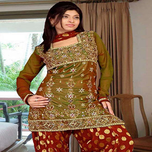 Patiala Dress Designs for Indian Girls Vol 3